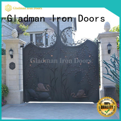 sturdy sliding fence gate design for apartments