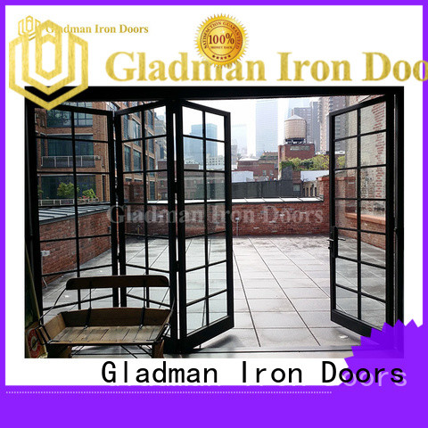 Gladman custom internal bifold doors fast shipping for retailer