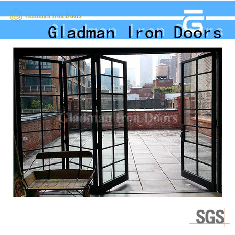 affordable aluminum bi-folding door fast shipping for distribution