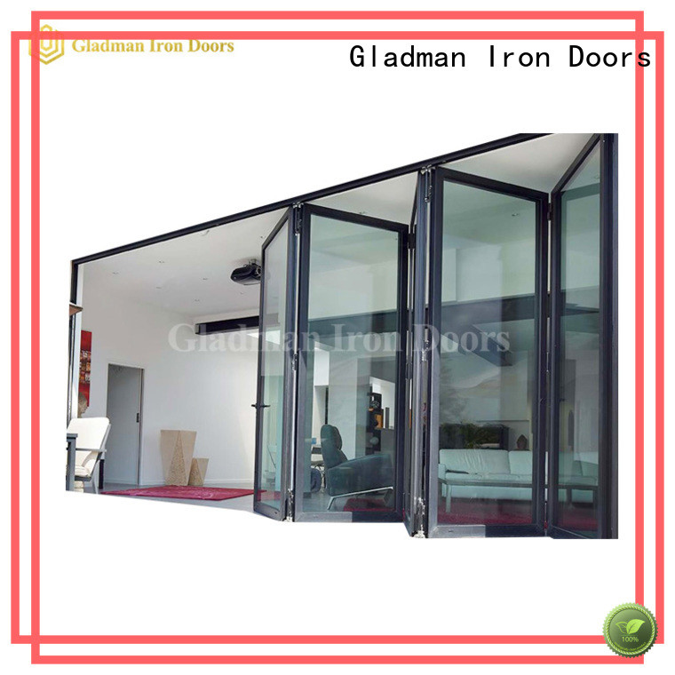 custom cheap bifold doors manufacturer for distribution