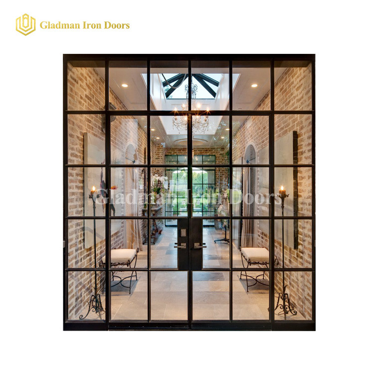 Best Double Glazed French Doors W/ Several Diamonds Design