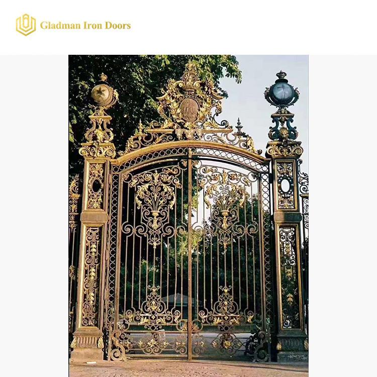 Luxury Custom Gates Brass Noble Atmosphere  IG-02