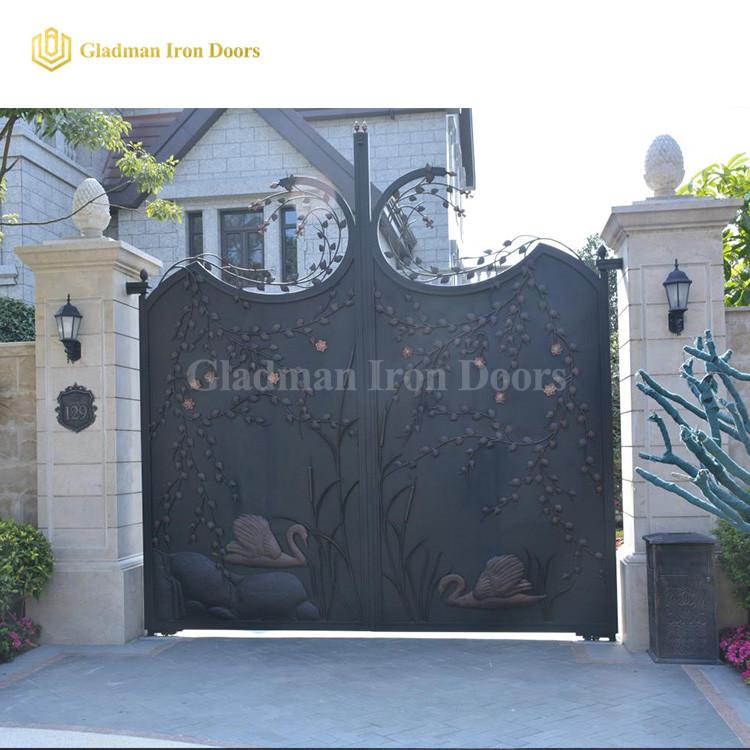 Luxury Custom Gates Courtyard Gate With A Sense Of Design IG-04