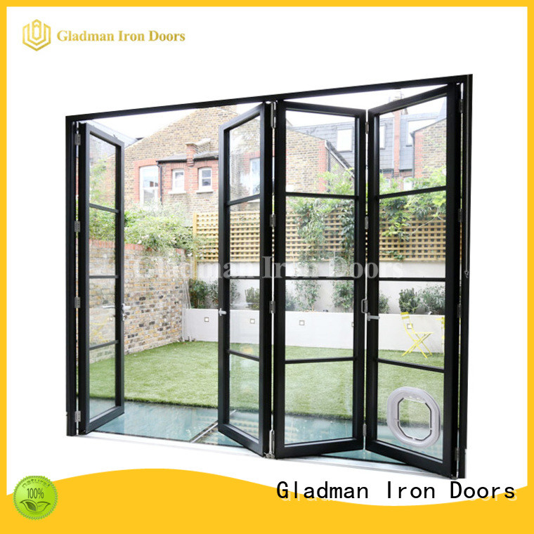 custom aluminum bi-folding door trader for retailer
