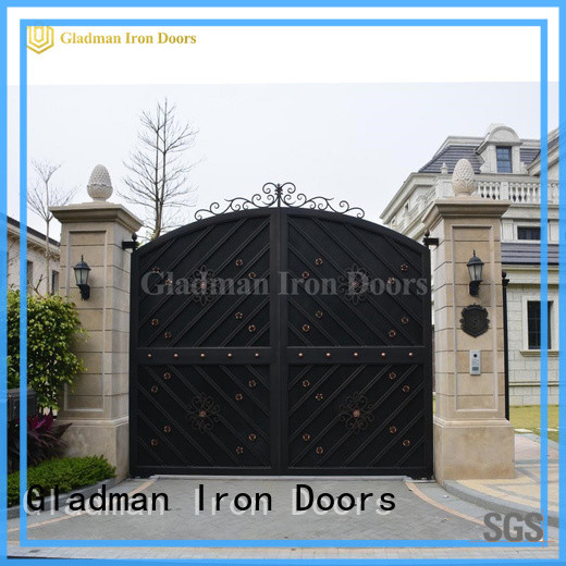 Gladman house gate design design for colleges