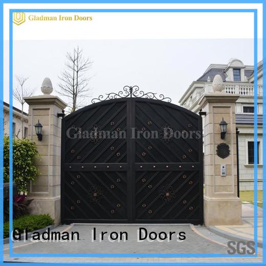 Gladman house gate design design for colleges