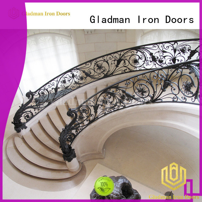 Gladman hot sale iron balconies exporter for deck