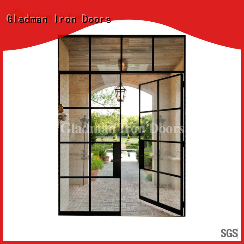 Gladman 2020 new design double french doors wholesale for living room