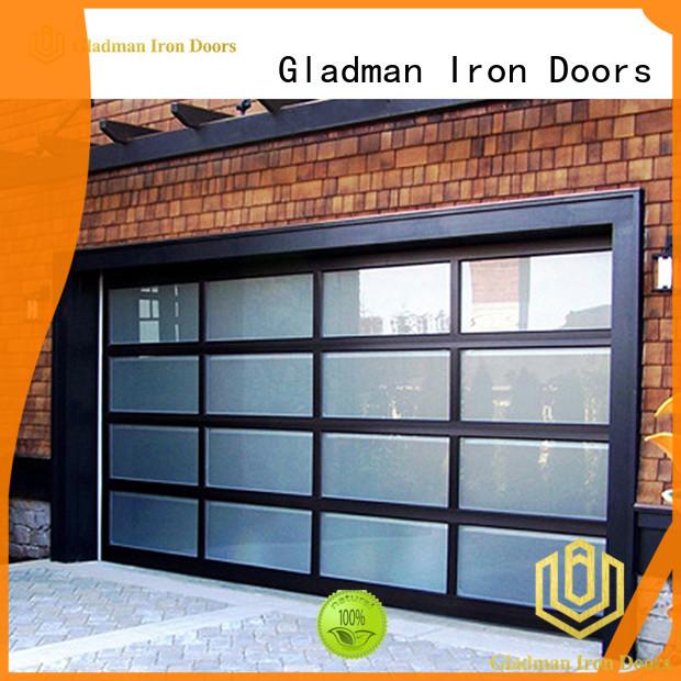 Gladman metal garage door factory for patio