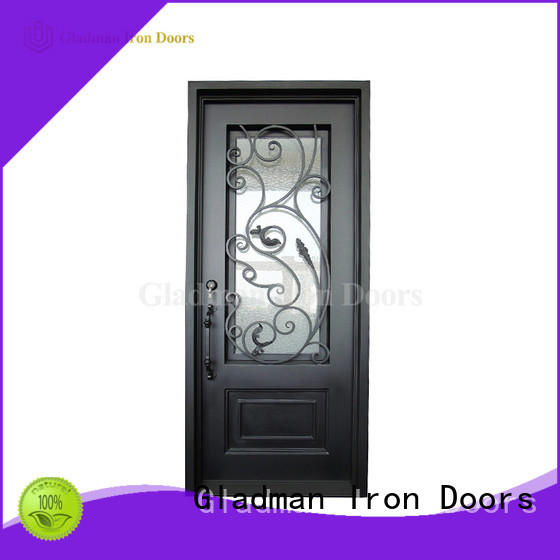 100% quality wrought iron security doors manufacturer