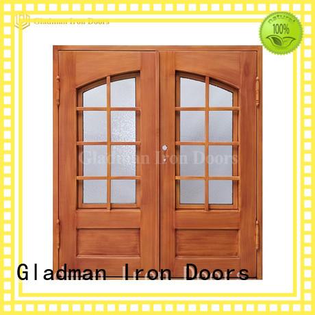 Gladman exterior double doors supplier for bedroom