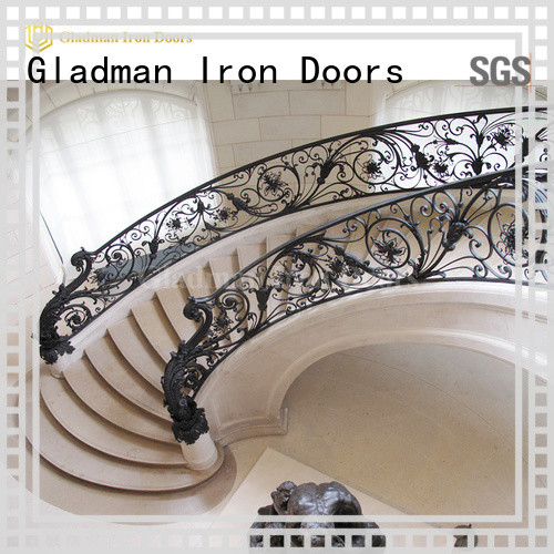 Gladman hot sale steel railing design exporter for distribution