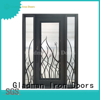 high quality wrought iron security doors factory