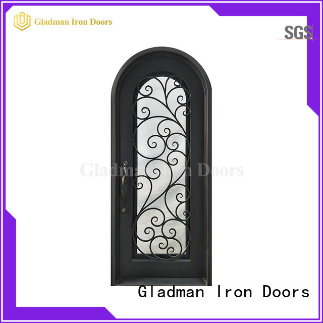 high quality wrought iron security doors manufacturer for sale
