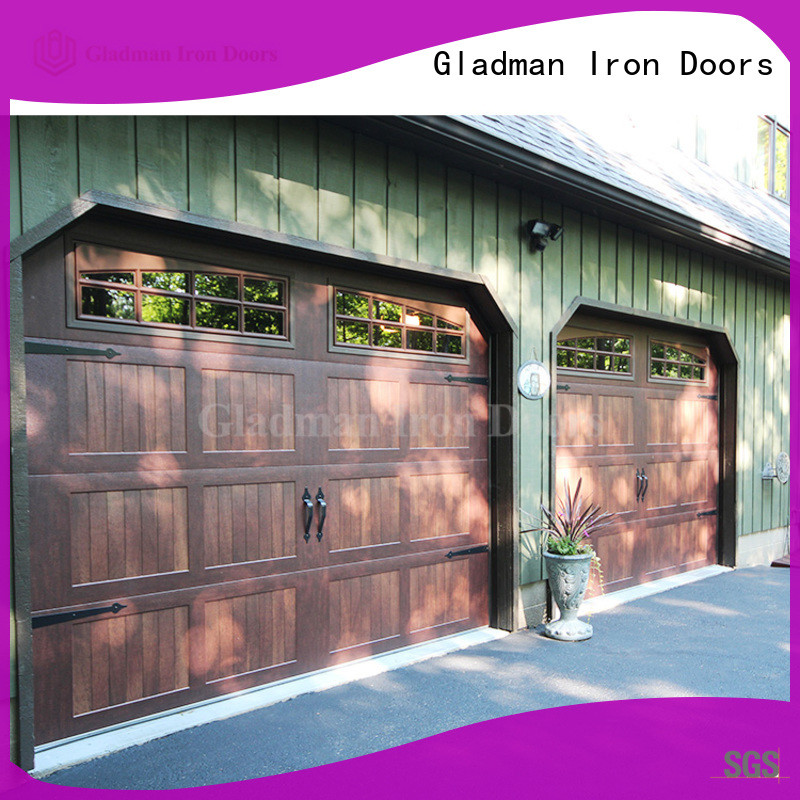 Gladman 8x8 garage door manufacturer for house