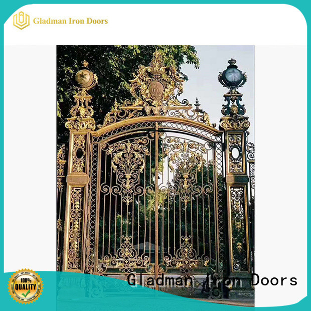 Gladman iron gate design for home trader for home