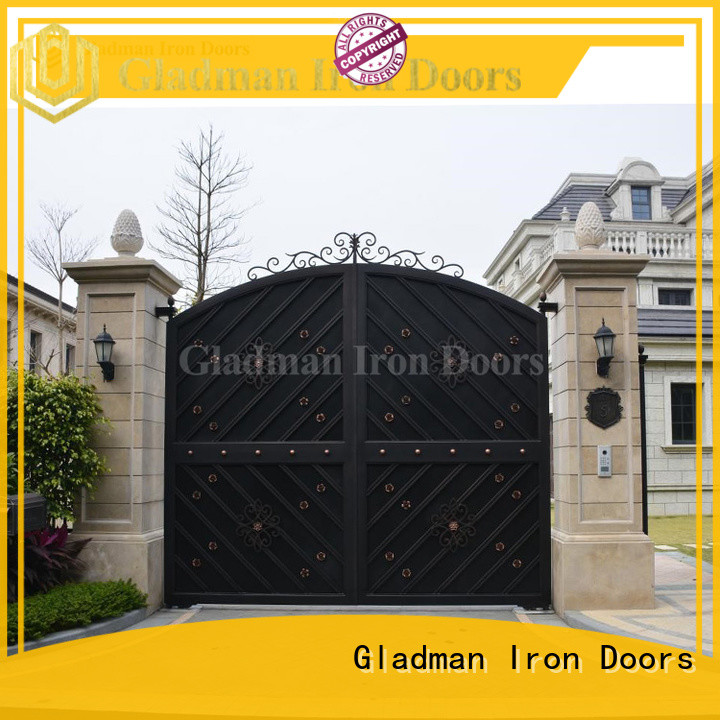 strong metal side gates wholesale for apartments