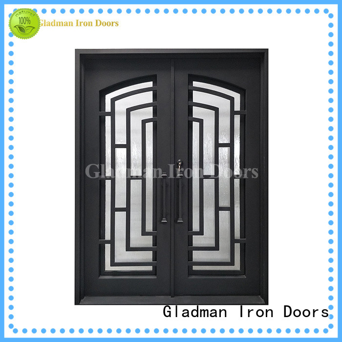Gladman high standard modern double front doors factory for bathroom
