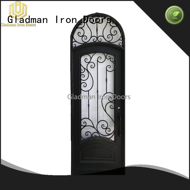 high quality wrought iron security doors one-stop services
