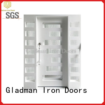 high-end quality wrought iron doors factory