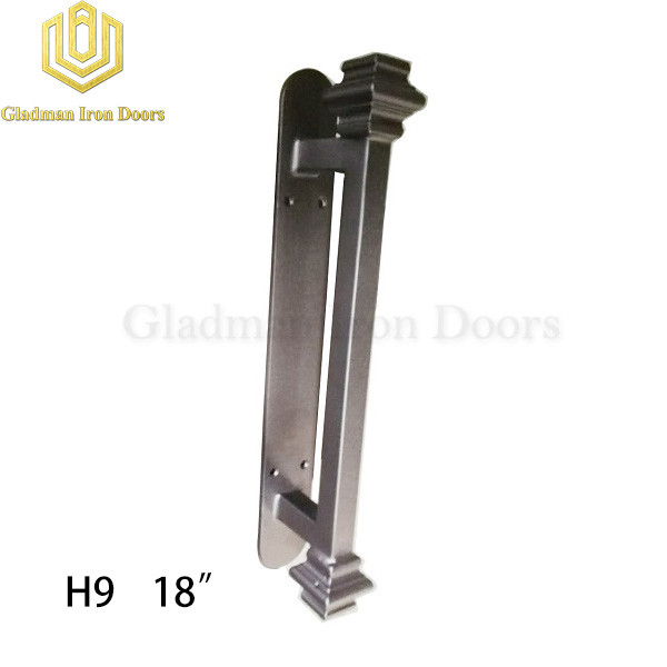 Wrought Iron Front Door H9 Pull Handle