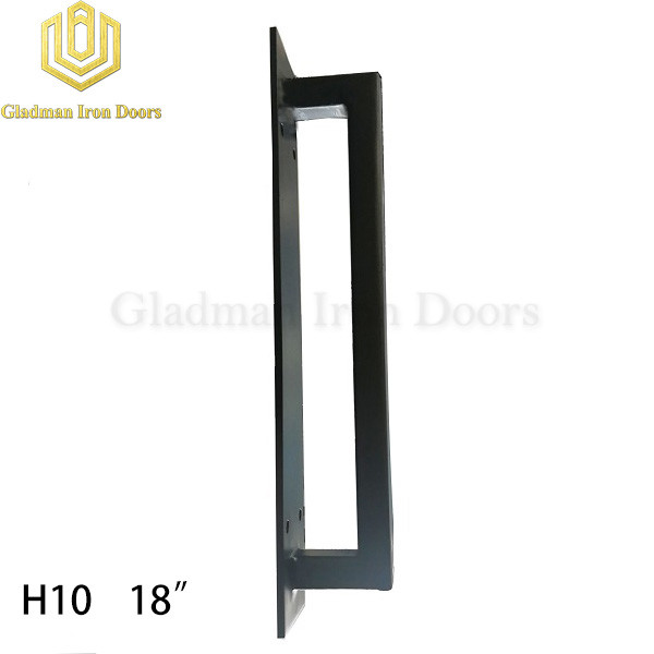Wrought Iron Front Door H10 Pull Handle