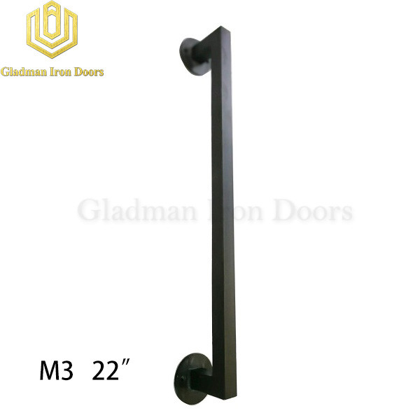 Wrought Iron Front Door M3 22