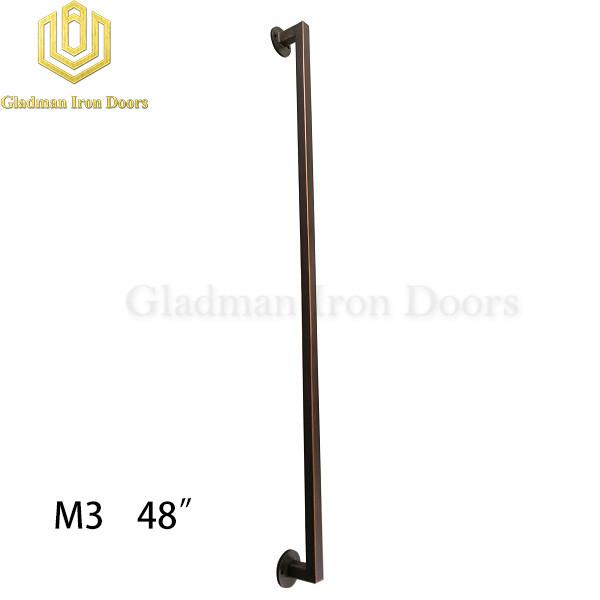 Wrought Iron Front Door M3 48