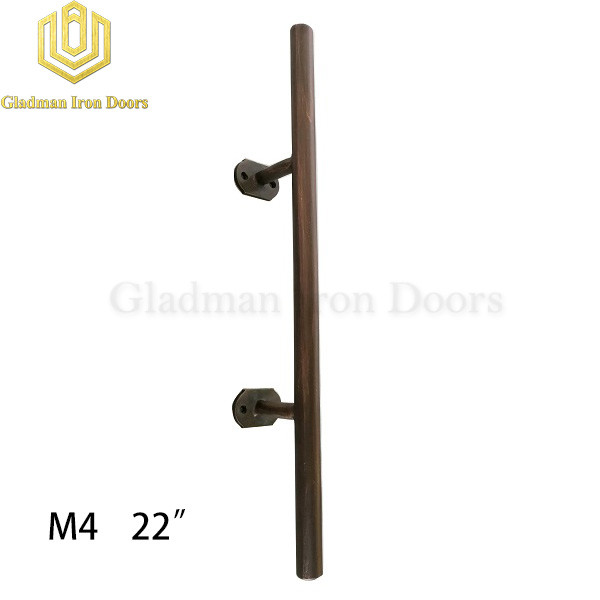 Wrought Iron Front Door M4 22