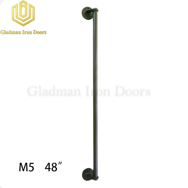 Wrought Iron Front Door M5 48