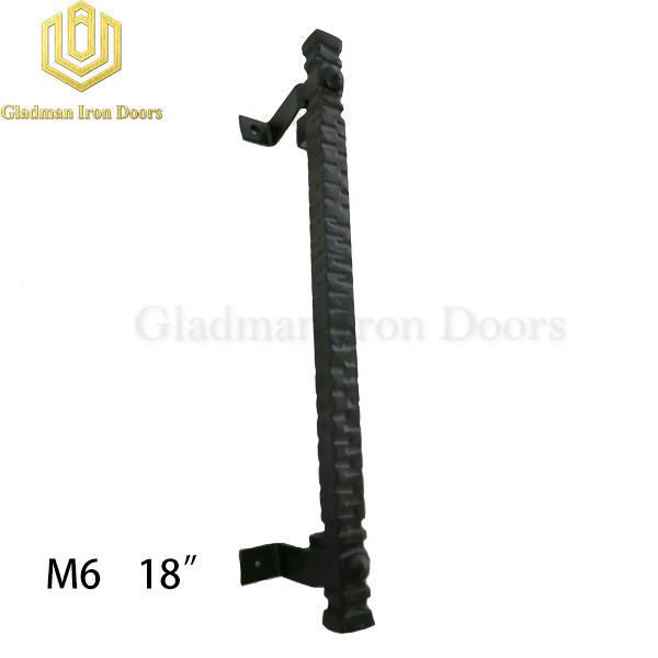 Wrought Iron Front Door M6 18