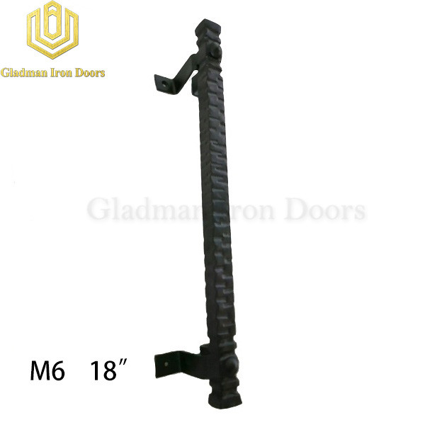 Wrought Iron Front Door M6 18