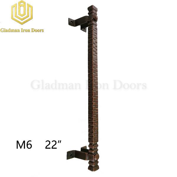 Wrought Iron Front Door M6 22