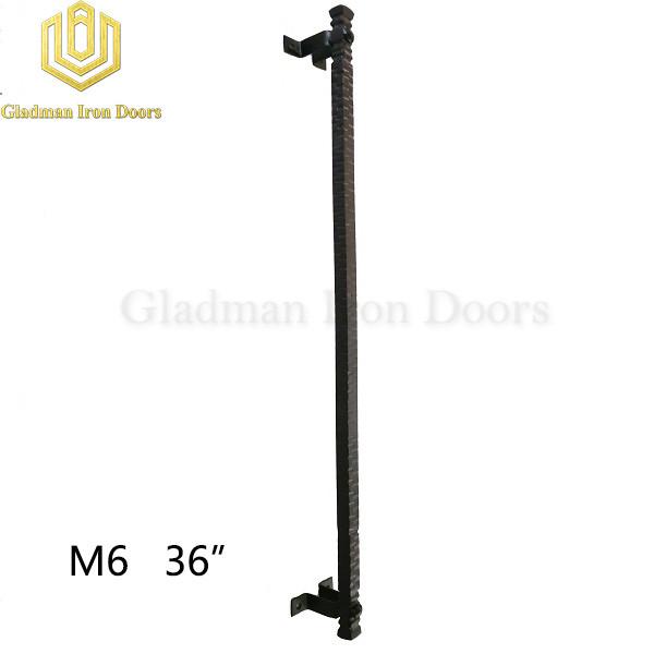 Wrought Iron Front Door M6 36