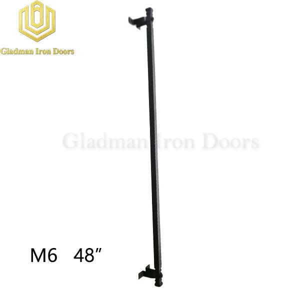 Wrought Iron Front Door M6 48