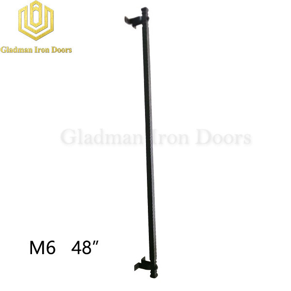 Wrought Iron Front Door M6 48