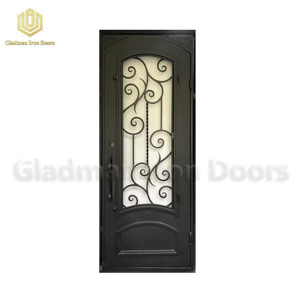 Square Top Aluminum Security Door 97 x 37 1/2 x 6 Inches