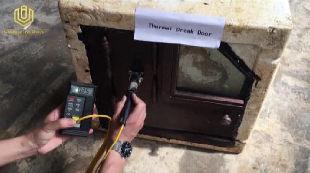 GLADMAN IRON DOORS | The difference between regular door and thermal break door