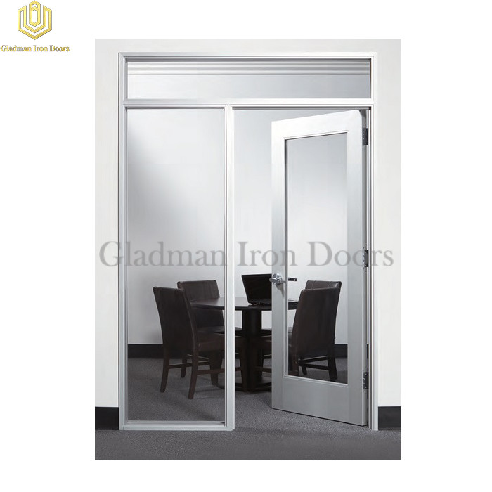 Mondern Aluminum Doors W/ Clear Glass