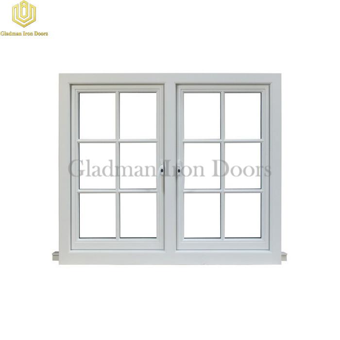 Custom Aluminum Windows White W/ Clear Glasses