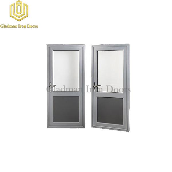 Custom Aluminum Door W/ Frosted Glasses