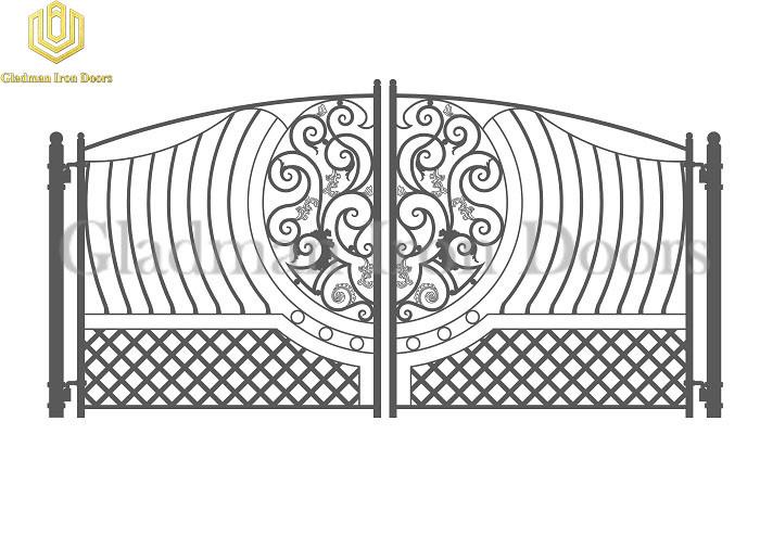 Custom Iron Common Gate CG-04