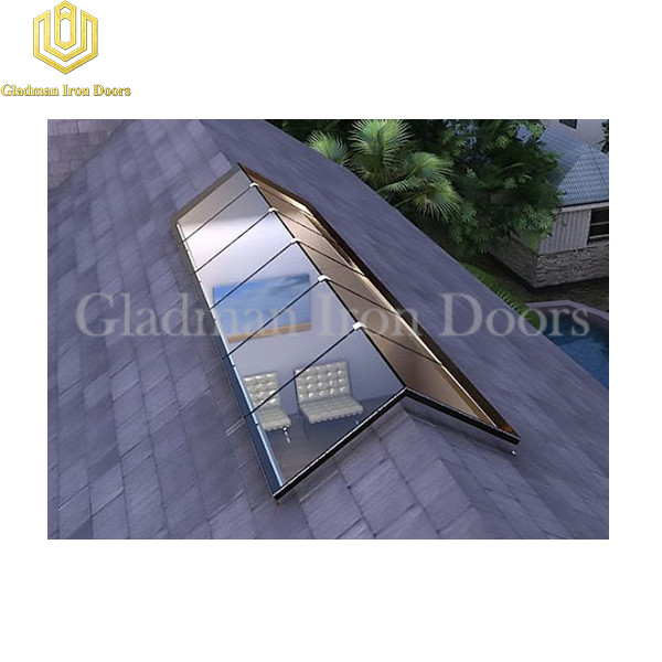 Gladman Aluminum Skylight On Triangle Rooftop AS-04