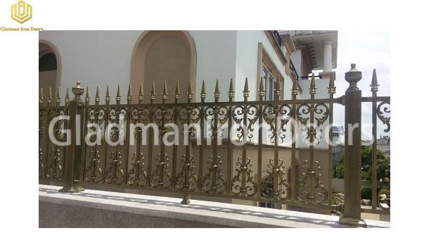 Aluminum Outside Fence AOF-06