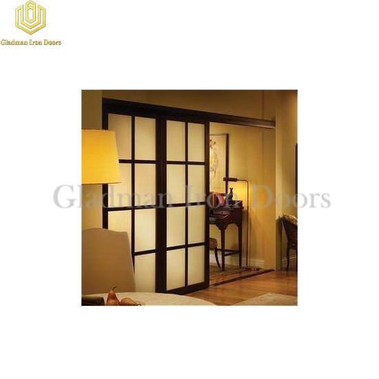 Aluminum Interior Sliding Door French Design