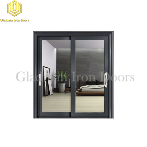 Aluminum Sliding Door Black ASD-04