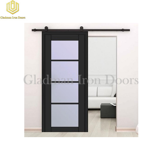 Wrought Iron Barn Door 4 Panels BD-05