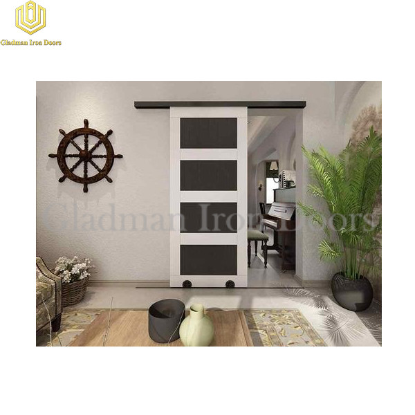 Wrought Iron Barn Door BD-06