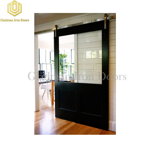 Wrought Iron Barn Door BD-08
