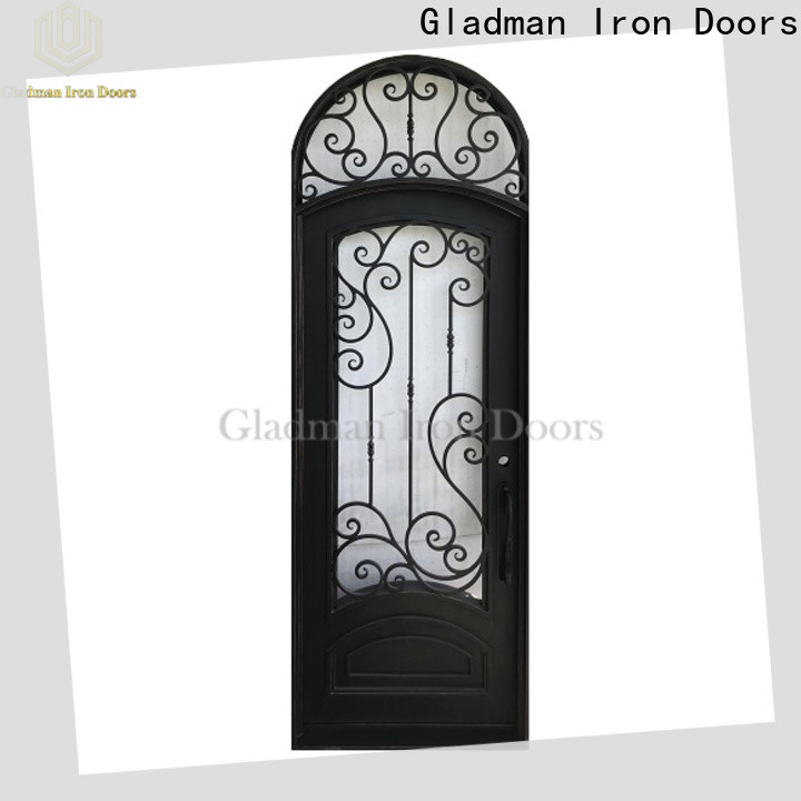 Gladman high-end quality wrought iron doors manufacturer for sale